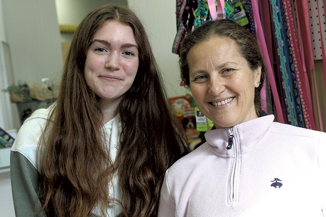 Isabella Beaudoin and Hilary Davis - COURTNEY LAMDIN