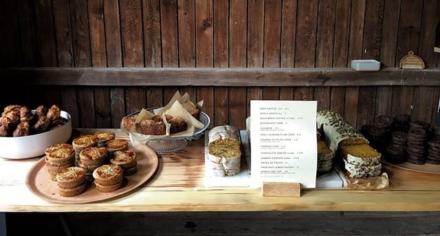 Vadeboncoeur's café at Snake Mountain - COURTESY OF SNAKE MOUNTAIN