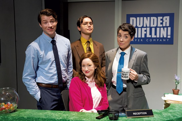 The Office! cast - COURTESY OF JEREMY DANIELS