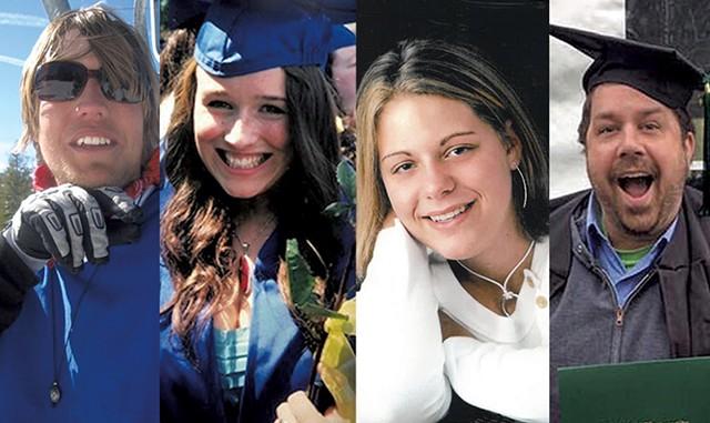 (Left to right): Brennan Joseph Dekeersgieter, Jenna Rae Tatro, Alexa Rose Cioffi and Jesse Palker