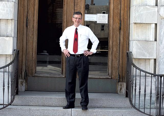 Former Rutland mayor Christopher C. Louras - FILE: CALEB KENNA