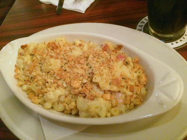 Not Your Mom's Macaroni And Cheese With House Made Crispy Diced Pancetta,  $12 - ALICE LEVITT