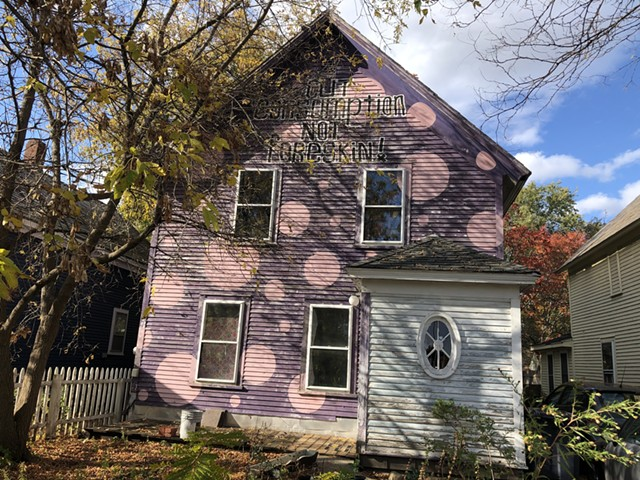 The house at 276 Colchester Avenue in Burlington - MOLLY WALSH
