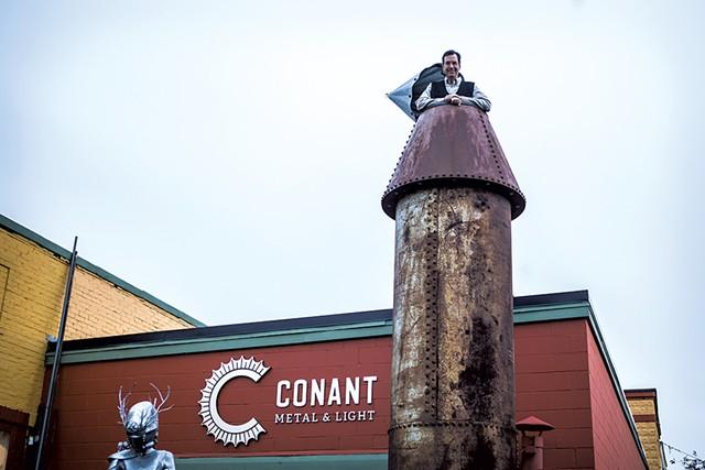 Steve Conant - FILE: LUKE AWTRY