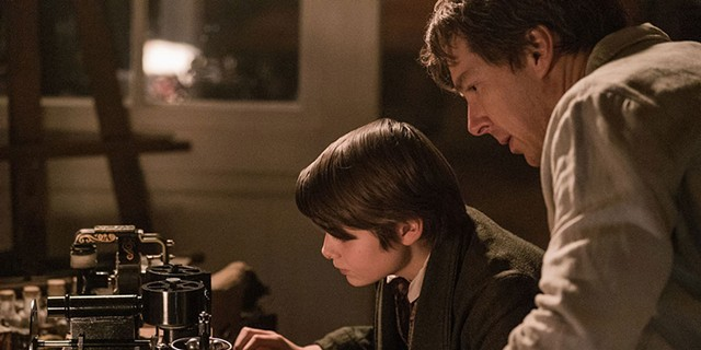 ELECTRIC DREAMS Cumberbatch gives a stilted performance as Thomas Edison in this long-shelved biopic