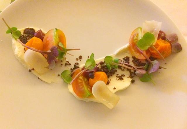 Fresh Food Farm tomato salad - ALICE LEVITT