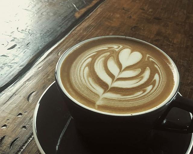 Kru Coffee latte - COURTESY OF KRU COFFEE