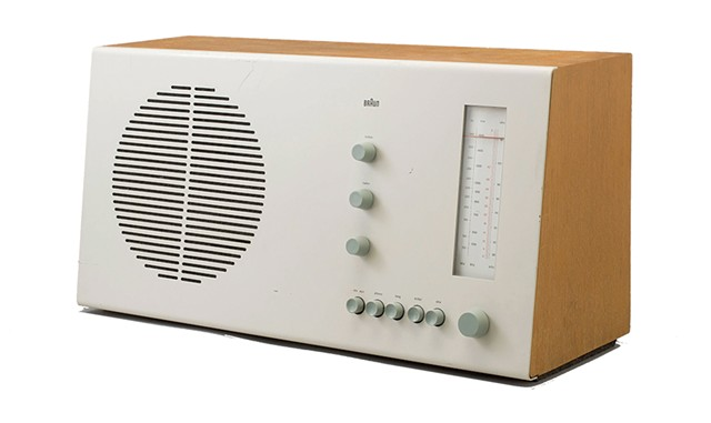 Tischsuper RT 20 Radio, 1961, by Dieter Rams for Braun - COURTESY PHOTO