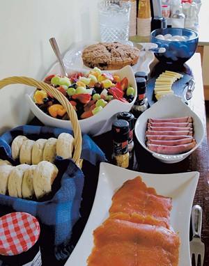 European-inspired farm-to-table breakfast at WilloBurke - COURTESY PHOTO