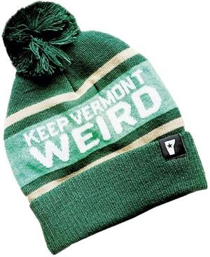 Keep Vermont Weird beanie - COURTESY PHOTO