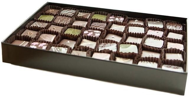 NU Chocolate Assortment Truffle Box - COURTESY PHOTO