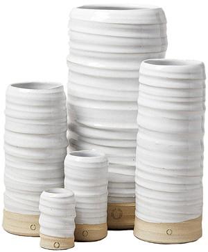 Farmhouse Pottery trunk vases - COURTESY PHOTO