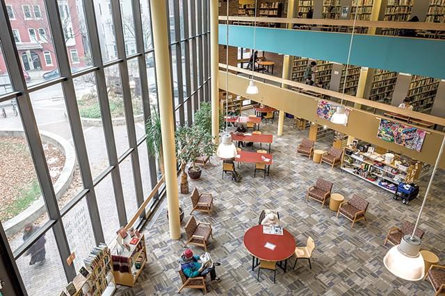 Fletcher Free Library - OLIVER PARINI