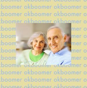 """""""ok boomer"""" record cover"""