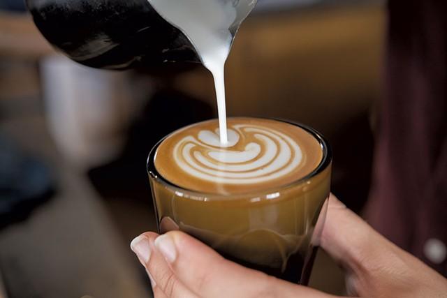 A brew at Royal Oak Coffee - CALEB KENNA