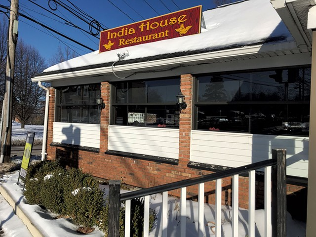 The former India House Restaurant - SALLY POLLAK
