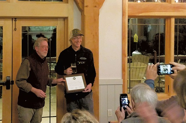 Brian Shupe (left) and Sean Lawson - COURTESY OF THE VERMONT NATURAL RESOURCES COUNCIL