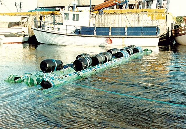 Barrels of hashish - COURTESY PHOTO