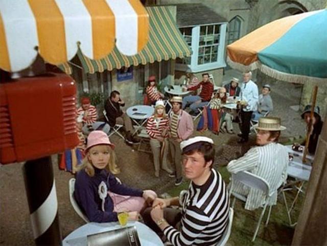 Denizens of the Village are a pretty passive lot. - EVERYMAN FILMS / ITC