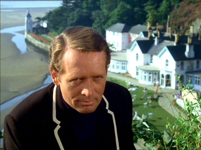 "Patrick McGoohan as Number Six in ""The Prisoner"" - EVERYMAN FILMS / ITC"