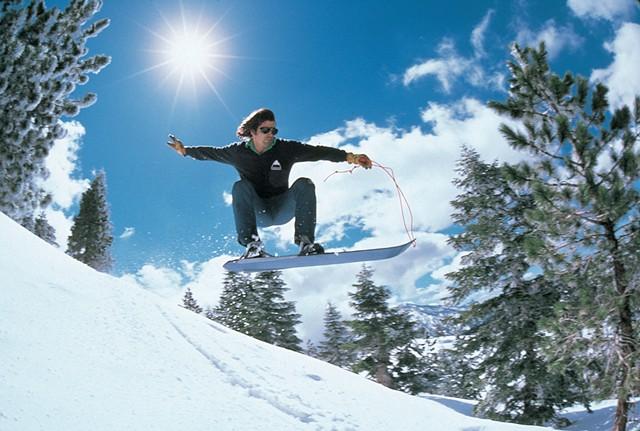 Jake Burton Carpenter in 1981 - COURTESY OF BURTON SNOWBOARDS