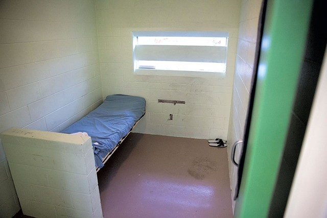 A room at the Woodside Juvenile Rehabilitation Center - FILE