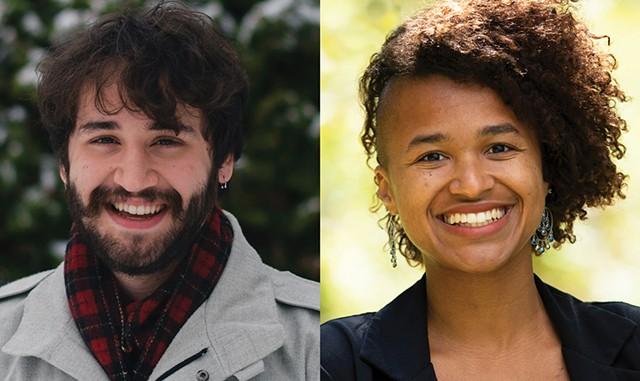 Nathan Lantieri, left, and Zoraya Hightower - COURTESY