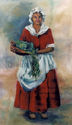 Painting of Lucy Terry Prince by Louise Minks - COURTESY OF MOUNT ISLAND