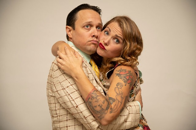 Ryan Montbleau and Hayley Jane of Yes Darling - COURTESY PHOTO