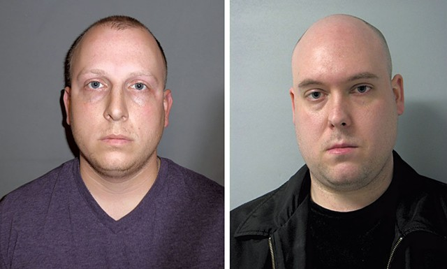 William Savaria (left) and Christopher Rich - COURTESY