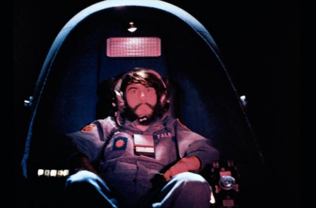 Talby in his bubble in Dark Star - BRYANSTON PICTURES / JACK H. HARRIS ENTERPRISES / UNIVERSITY OF SOUTHERN CALIFORNIA