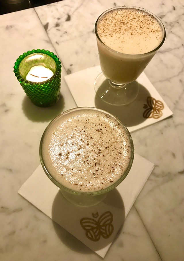 Eggnog at Monarch & the Milkweed - SALLY POLLAK