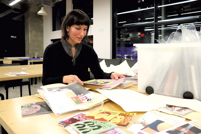 Jessica Hébert at Artexte - MARGARET GRAYSON