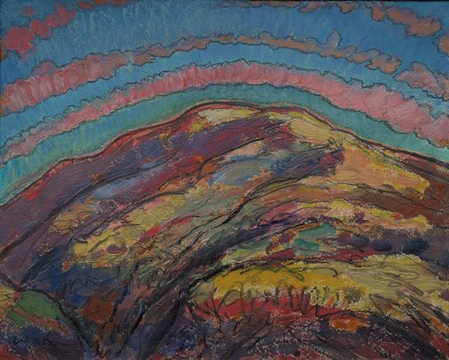 """Autumn Storm"" by Harold Weston - COURTESY OF HAROLD WESTON FOUNDATION"