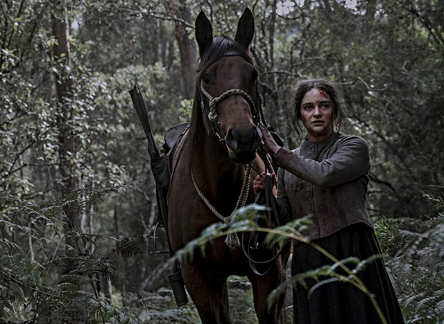 Aisling Franciosi in The Nightingale