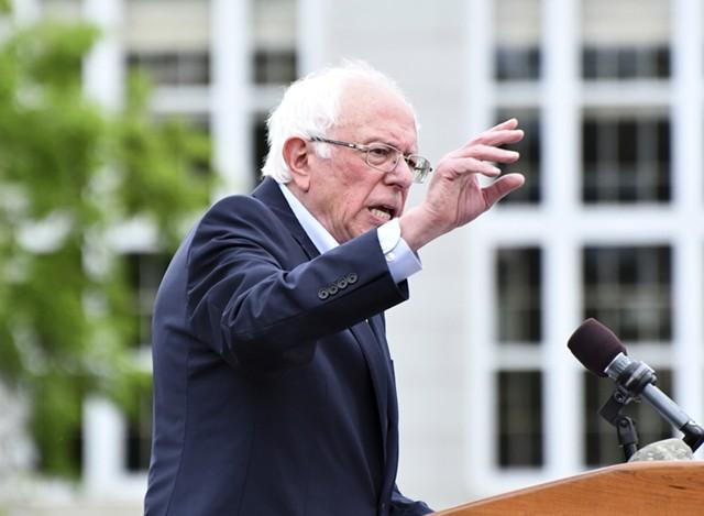 Sen. Bernie Sanders - FILE: STEFAN HARD