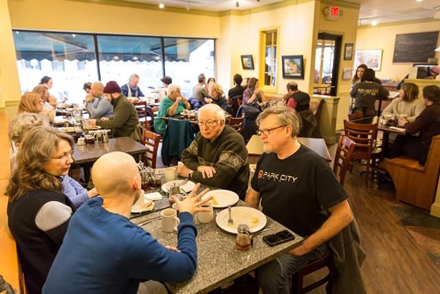 Diners at Mirabelles Café & Bakery - FILE: OLIVER PARINI