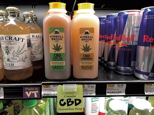 Kimball Brook Farm CBD drinks - SALLY POLLAK