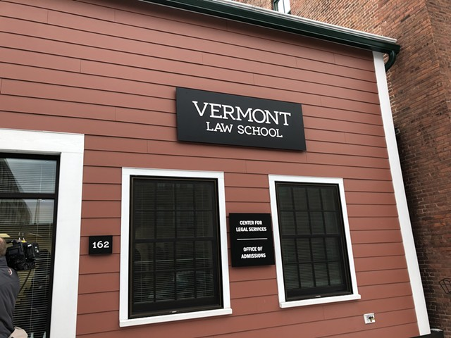 The new Vermont Law School office at 162 St. Paul Street in Burlington - MOLLY WALSH