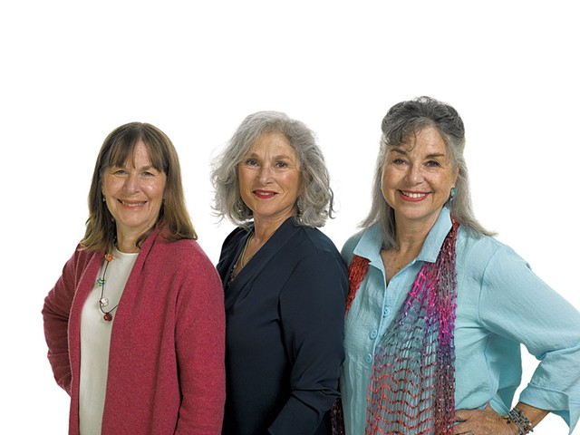 From left: Polly Smith, Hinda Miller and Lisa Lindahl - COURTESY OF NATIONAL INVENTORS HALL OF FAME