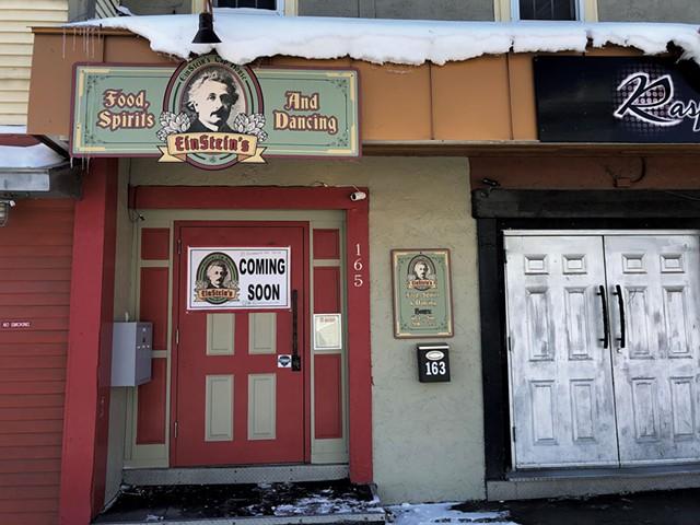 Einstein's Tap House - JORDAN BARRY