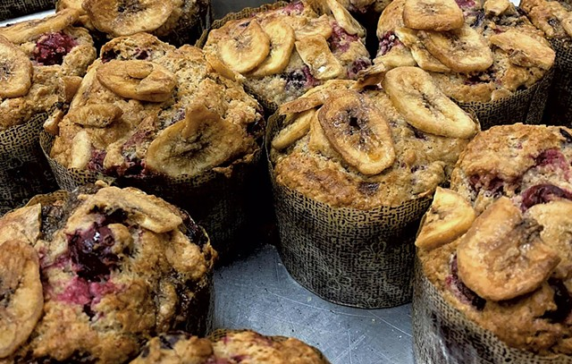 Muffins at Otter Creek Bakery in Middlebury - COURTESY OF OTTER CREEK BAKERY