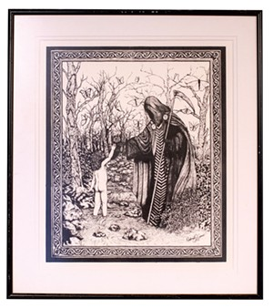 Tarot death card - LUKE AWTRY