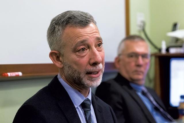 Louis Josephson, CEO and president of the Brattleboro Retreat - COLIN FLANDERS