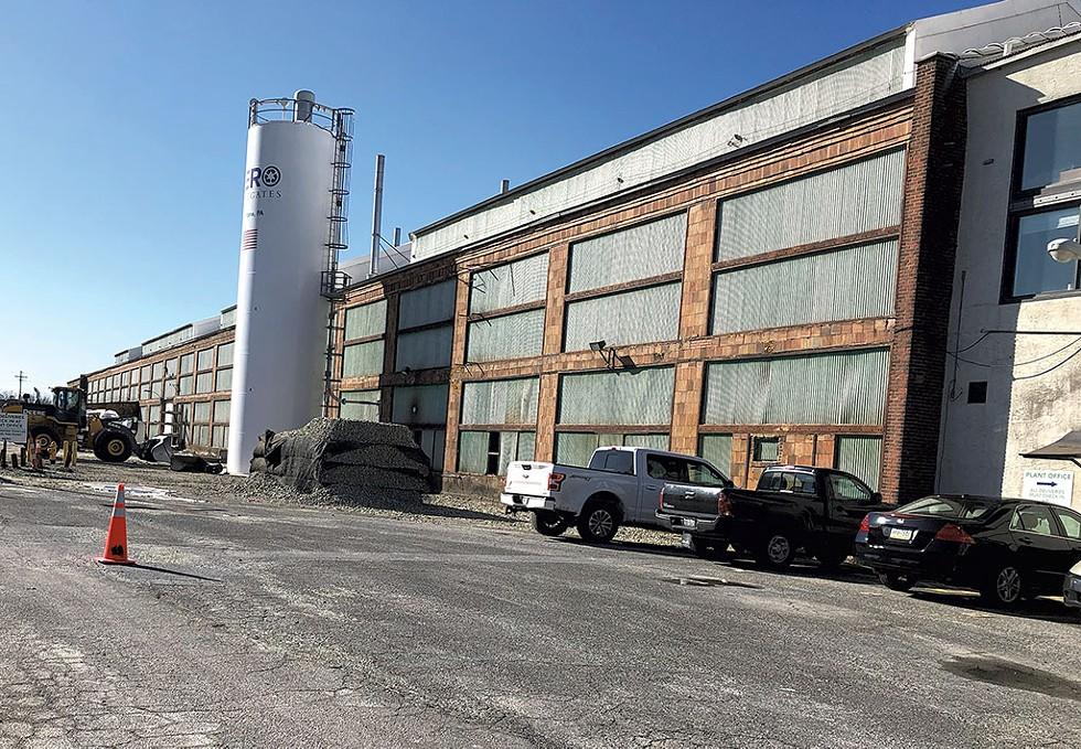 AeroAggregates in Eddystone, Pa. - MOLLY WALSH