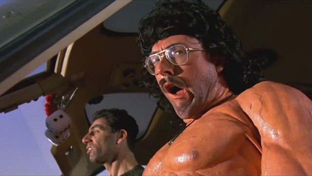 The Rambo parody in UHF. - ORION PICTURES / MGM
