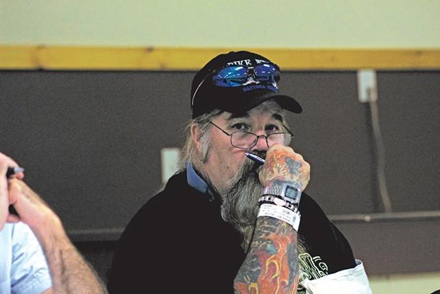 Former Alburgh Selectboard member Bernard Savage. - ELODIE REED, ST. ALBANS MESSENGER