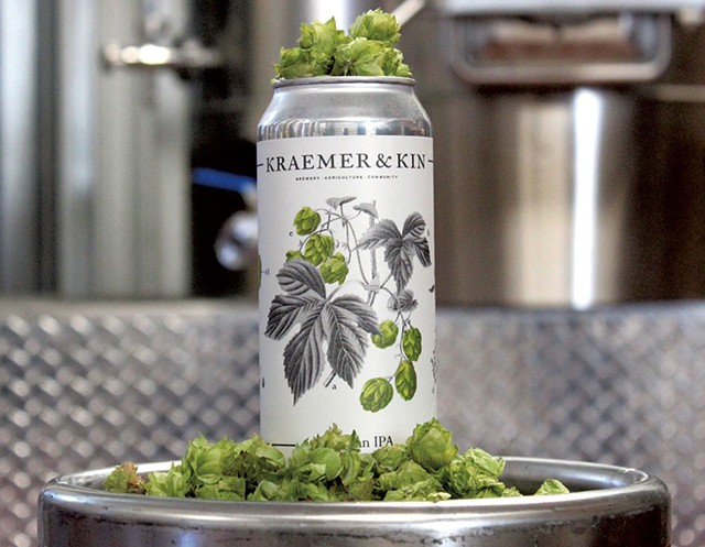 Kraemer & Kin beer - COURTESY PHOTO
