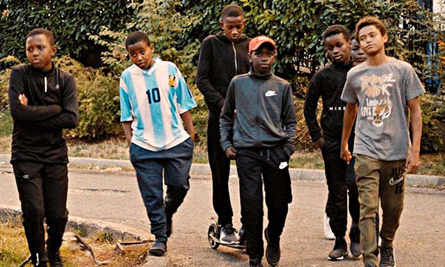 POLICE BRUTALITY Street kids use excessive force against cops they consider corrupt in Ly's arresting feature debut.