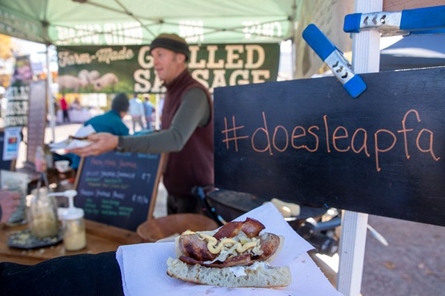 A sandwich from Does' Leap - FILE PHOTO: JAMES BUCK